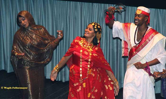 فن الرقص الشعبي في السودان