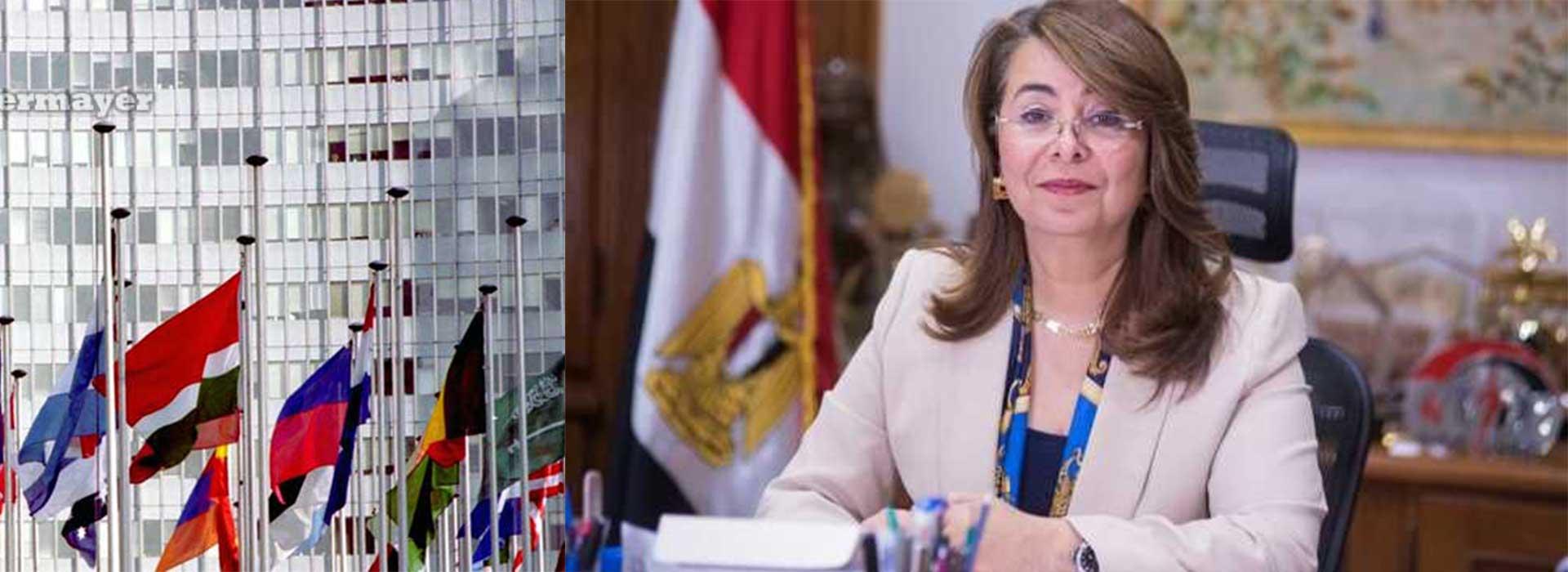 الدكتورة غادة والي مدير مقر الامم المتحدة في النمسا